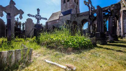 Luguber: stoffelijke resten gevonden tussen de graven op begraafplaats in Ettelgem