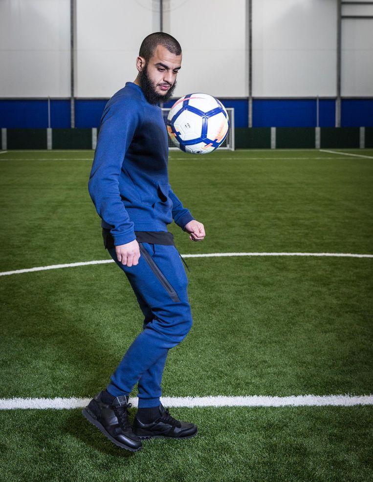 Soufyan Ahannach bij Brighton & Hove Albion: 'Ik moet mezelf soms knijpen om het te geloven' Beeld Dingena Mol