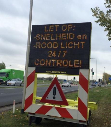 Automobilisten bij Culemborg gewaarschuwd voor splinternieuwe flitspalen