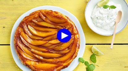 Dessert zonder afwasberg: deze mangotaart maak je in één pan klaar