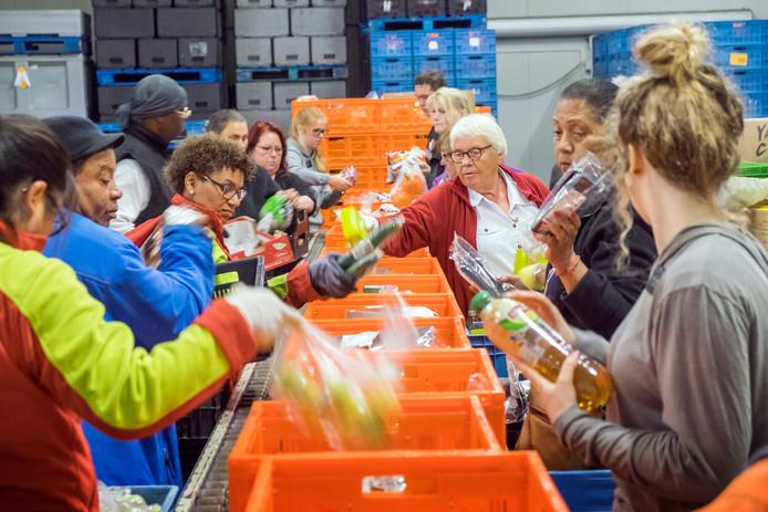 Cliënten komen onder meer via de Voedselbank bij Stadsring51 terecht.