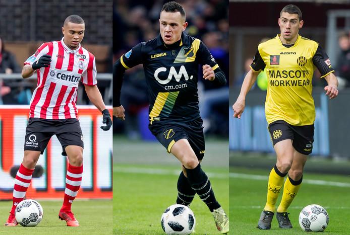 Sparta, NAC en Roda JC staan op dit moment onder de streep.