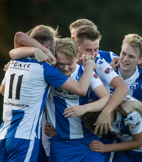 Koploper VVG'25 minst slechte in derby met Terborg