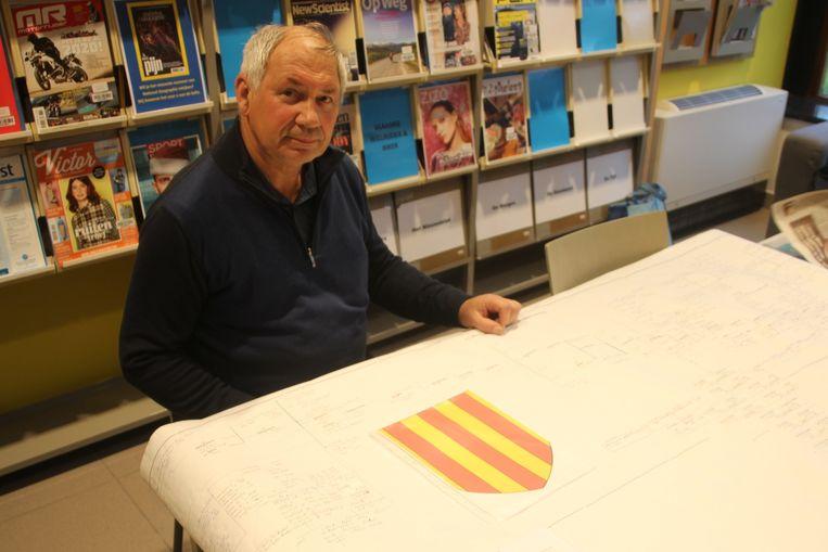 André Van Humbeeck uit Erpe stak heel wat werk in het samenstellen van zijn stamboom.
