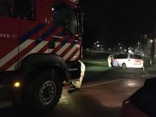 Brandweer helpt politie 'uit de brand'