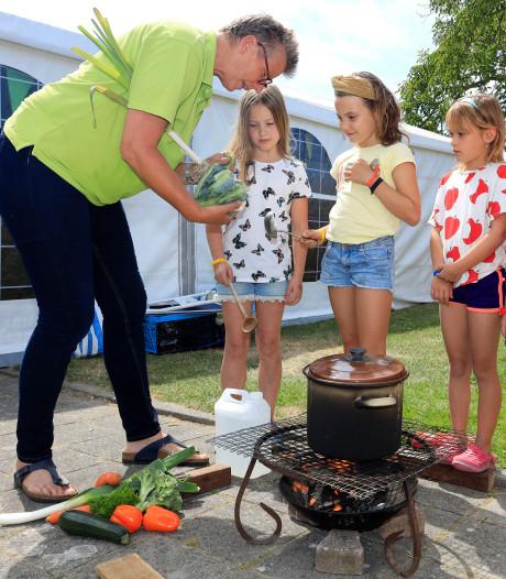 Op de camping koken met de reizende chef: jammie!
