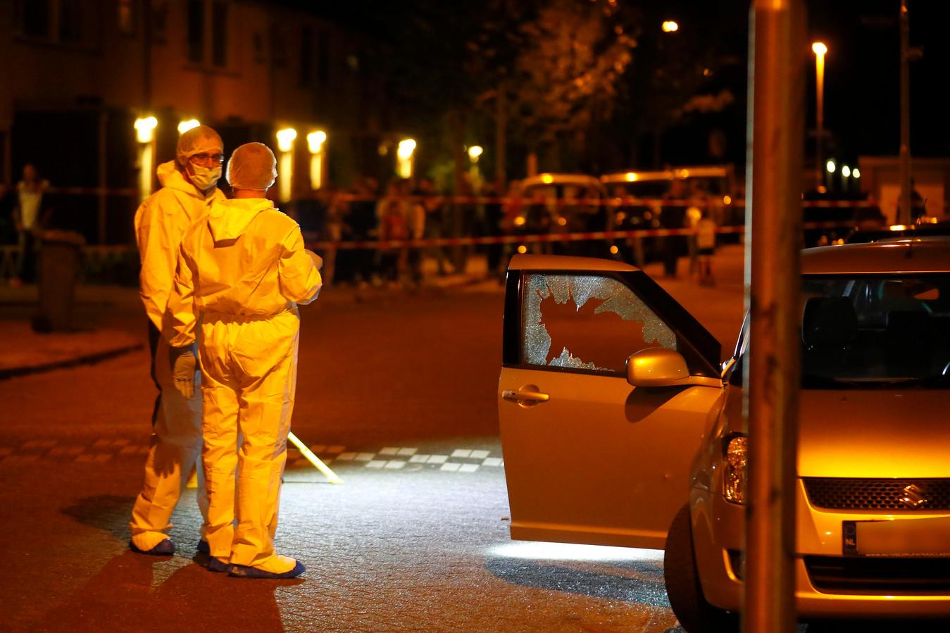 Fouad Rashidi werd doodgeschoten in zijn auto in de Eindhovense Sionstraat.