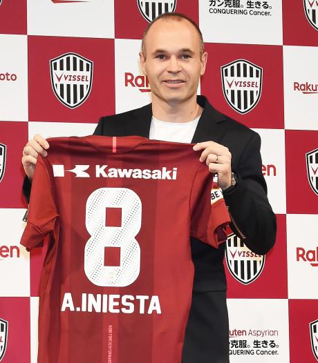 Andrés Iniesta gepresenteerd bij club van Havenaar