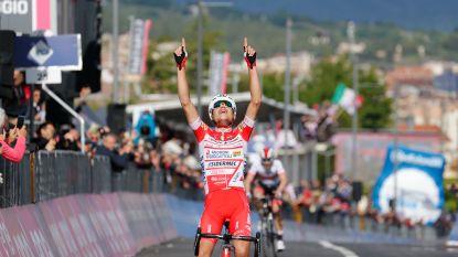 Hoogdag voor Italië in Giro: Masnada wint rit, Conti neemt roze trui over van Roglic