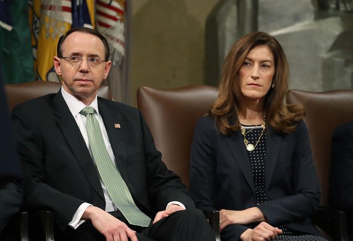 Rod Rosenstein en Rachel Brand