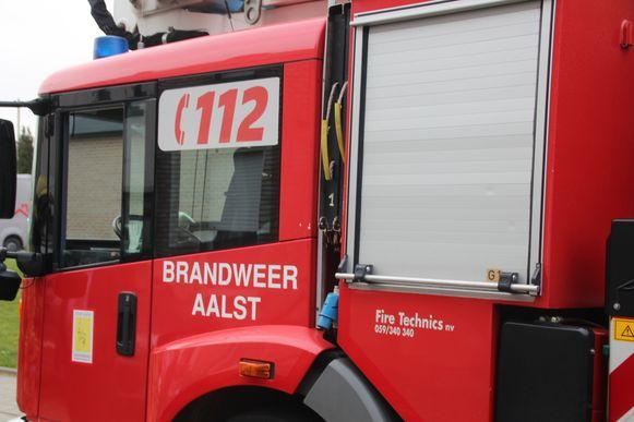 Brandweer Aalst.