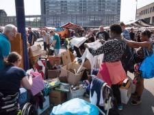 'Alles gratis, alles voor niks!', de laatste loodjes van een geslaagde Meimarkt