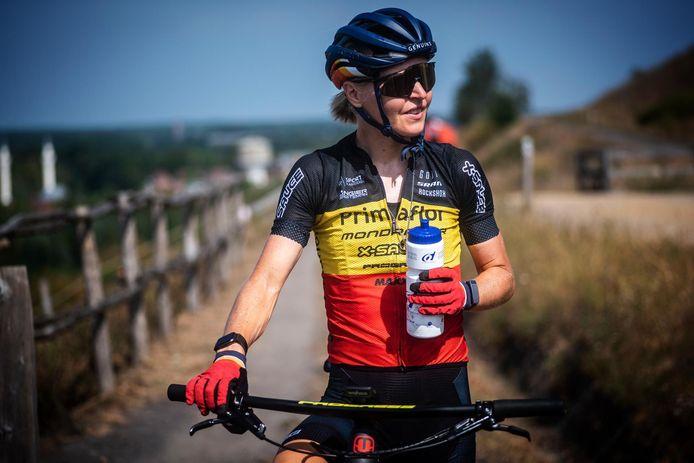 Githa Michiels kan na een zoektocht naar steun weer rustig voortwerken richting de Olympische Spelen in Tokio.