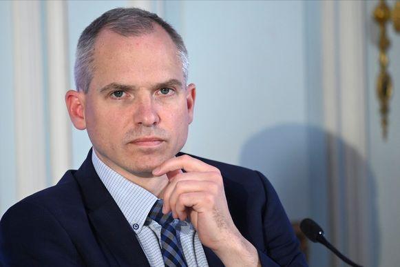 Vlaams minister van Financiën Matthias Diependaele (N-VA).