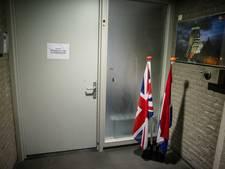 Britten op weg naar de uitgang