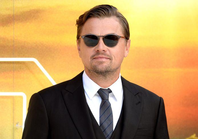 """Leonardo DiCaprio à la première britannique de """"Once Upon a Time... in Hollywood""""."""