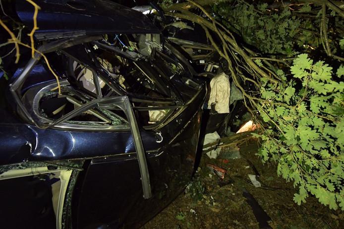 Ongeluk op de A67