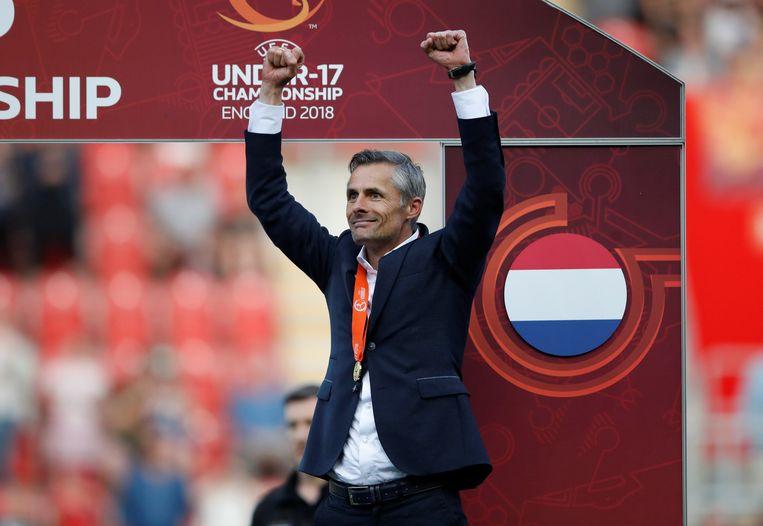 Voor veel Feyenoordgezinden is Kees van Wonderen de gedroomde hoofdtrainer.  Beeld null