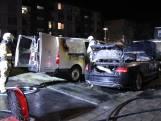 Twee verdachten aangehouden voor autobranden in Utrecht