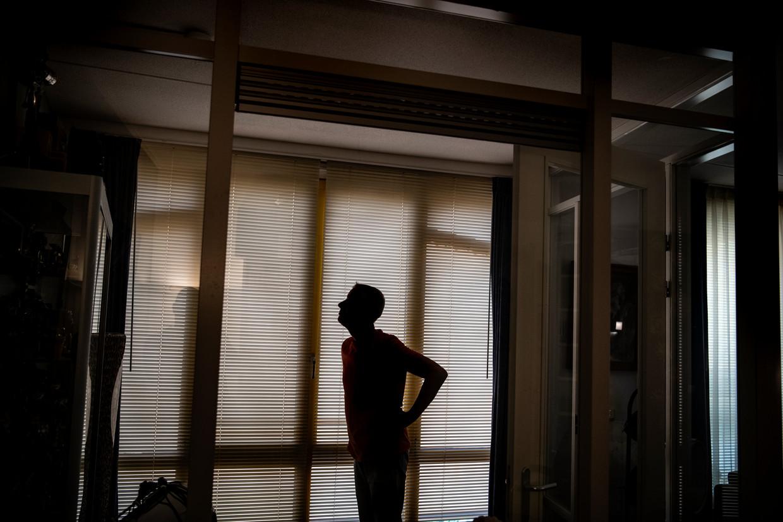 Het verhaal over misbruik bij het Leger des Heils begon met een telefoontje van Richard Bos, hier onherkenbaar gefotografeerd.
