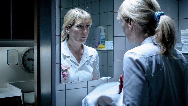 Ariane Schluter in 'Lucia de B.' van Paula van der Oest. Beeld