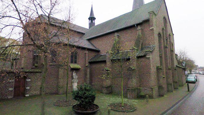 Kerk aan de Kerkstraat in Sevenum.