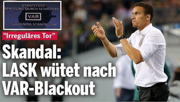 """""""Schandaal: LASK woedend na VAR-blackout""""."""