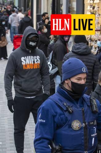 """LIVE. Politie Brussel roept op om niet onnodig te komen winkelen - """"Coronavaccins met militair vliegtuig naar VK"""""""