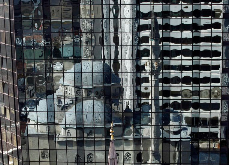Veel gebouwen in Istanbul zouden niet voldoen aan de bouwnormen, en daarom niet aardbevingsbestendig zijn. (archieffoto) Beeld REUTERS