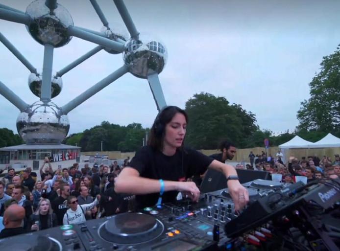 La DJ belge Amelie Lens