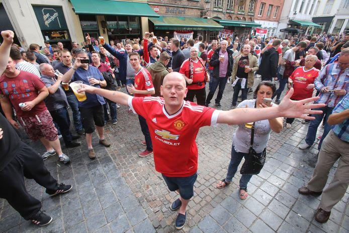 In 2015 kwamen de Britse fans al eens op bezoek