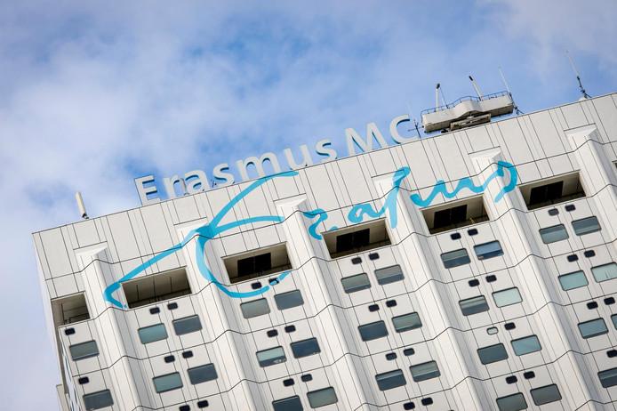 Exterieur van het Erasmus MC.