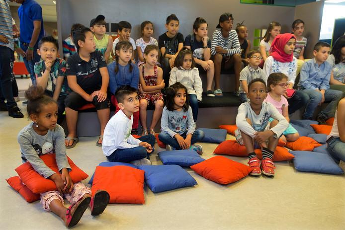 Beeld van de eerste editie van de zomerschool in Didam, twee jaar geleden.