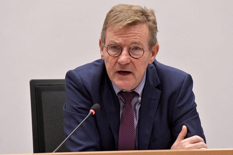 Europees parlementslid Johan Van Overtveldt (N-VA) stelde het ontwerp op.