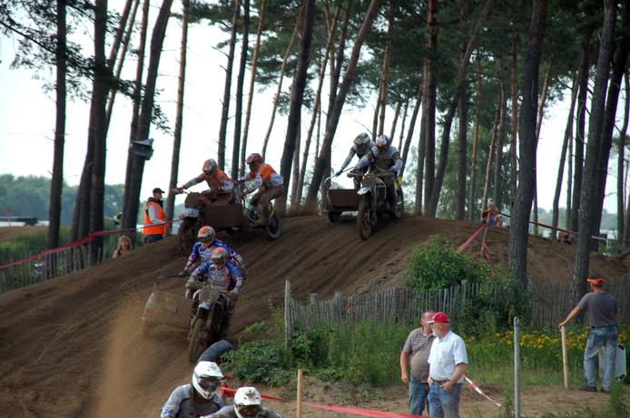 De Ketelberg, het terrein van motorcrossclub MCC de Kempen op de grens van Eersel en Bladel.