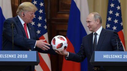 Gaf Poetin Trump bal met afluisterapparatuur?