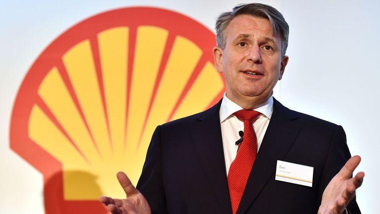 Bestuursvoorzitter van Shell Ben van Beurden eerder dit jaar. Beeld afp