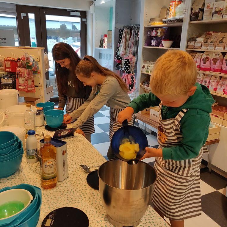 De bakstage kent veel succes bij de kinderen.