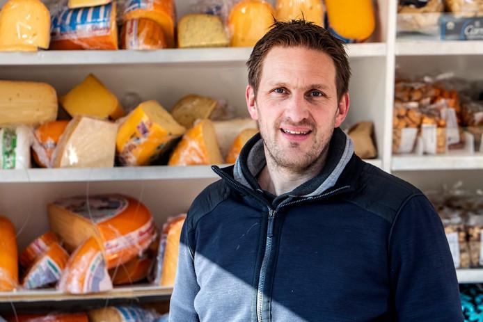 David van Zijl, kaasbaas van de regio.