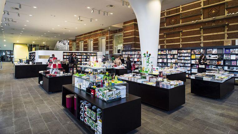 De winkel in het Stedelijk Museum. Beeld ANP