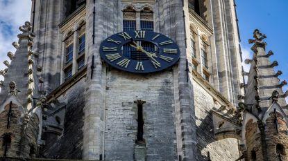 Weer defect aan klok Halletoren