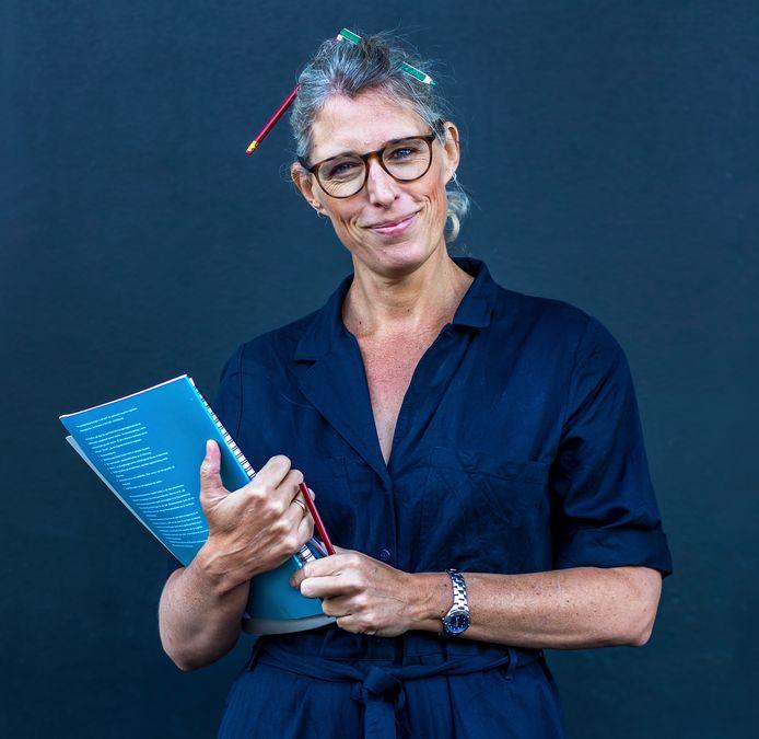 Marieke Dubbelman volgt een opleiding tot leerkracht.