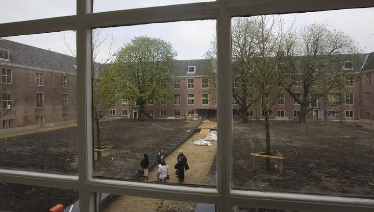''We zijn enorm trots op de Hermitage,'' zegt directeur Boudewijn Poelmann. Beeld