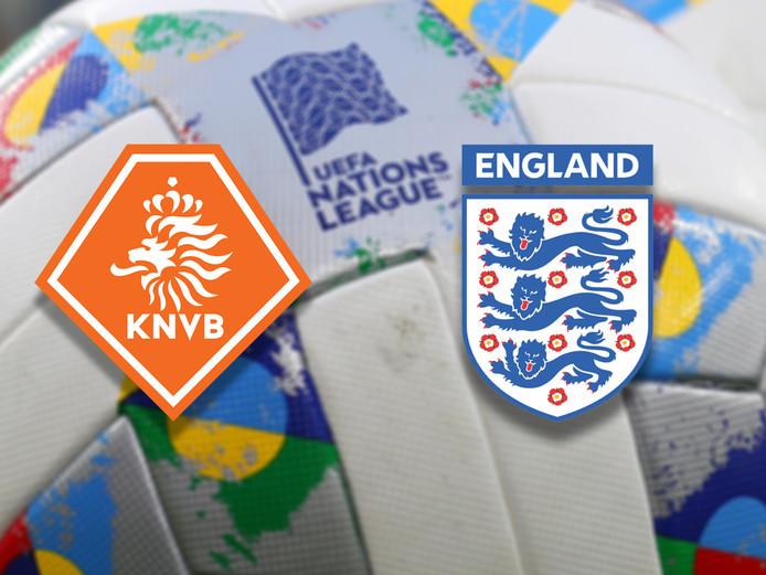 Nederland-Engeland.
