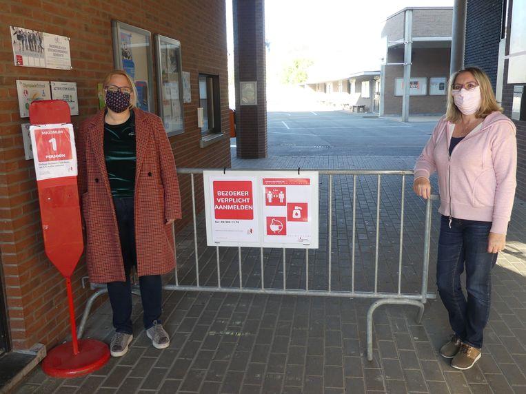 Ann Sanders is verantwoordelijk voor de schoolorganisatie en Nadia Pieters is kersvers preventieadviseur.