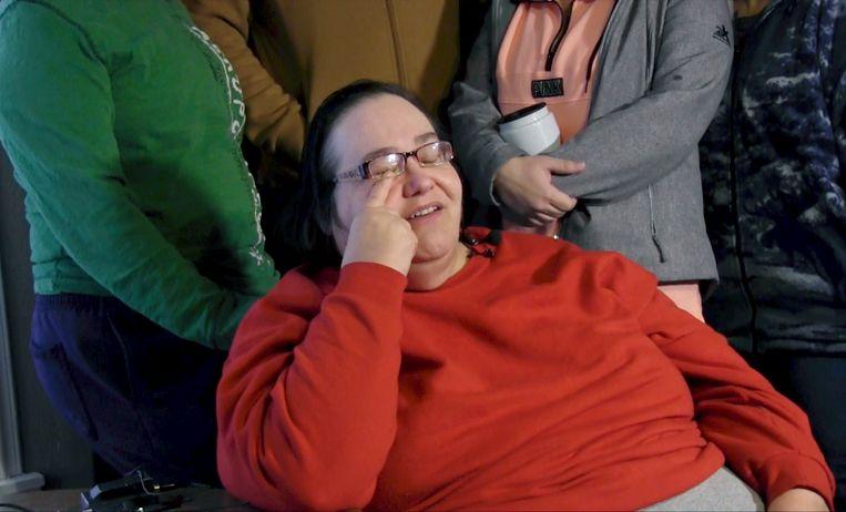 Lisa Finch, de moeder van slachtoffer Andrew Finch.