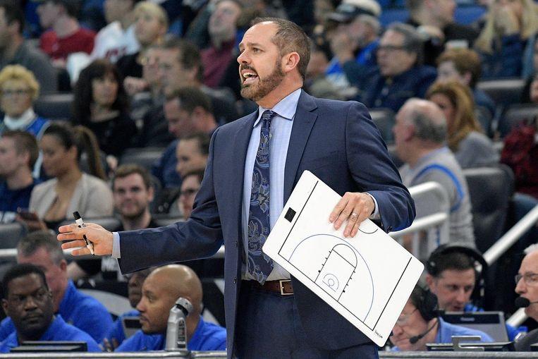Frank Vogel coachte tot april 2018 Orlando Magic. Sindsdien zat hij zonder job.