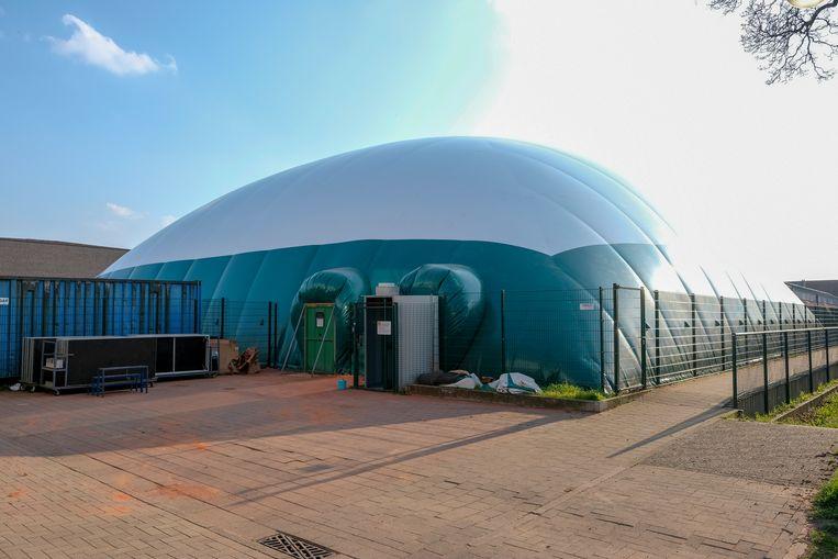 Een nieuwe luchthal voor tennisclub Tenza.