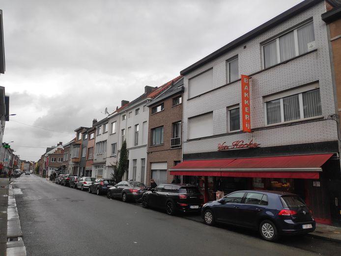 De overval vond plaats in deze bakkerij in de Brugse Poort.