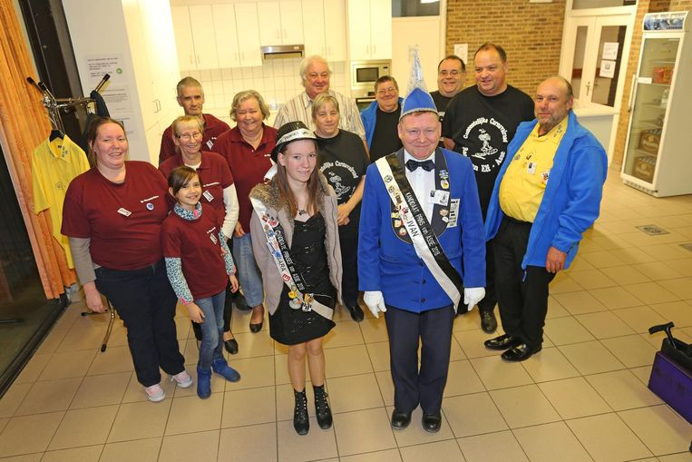 De kandidaat-prins en -prinses en de organisatoren zijn klaar voor een nieuw carnavalsfeest.